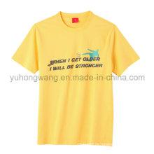 Mode Gute Qualität Baumwolle Männer gedruckt T-Shirt