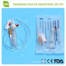 Maßgeschneiderte Bluttransfusionsset im Krankenhaus in China verwendet