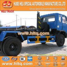 DONGFENG 4x2 10CBM LHD hook arm garbage truck 190hp cheap price for sale In China