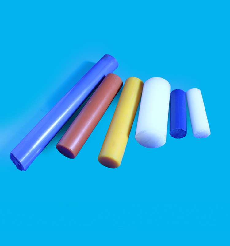 Colored Plastic PU Round Bar for Bush