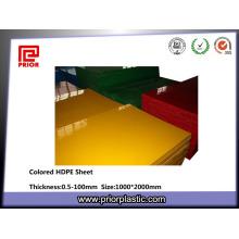 Material de HDPE de la placa de corte 1000 * 2000mm
