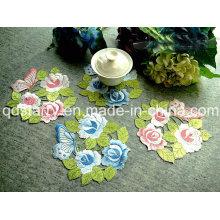 Дизайн Роза Салфетка Розовый Синий Желтый Цвет St1771