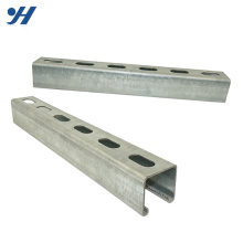 Canal Unistrut de aço inoxidável de Hdg C da resistência de corrosão