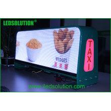 Ledsolution Latest Products Affichage à LED de taxi Affichage supérieur de voiture de LED