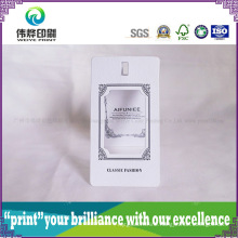 Hollow out Embossing Paper Printing Hang Tag
