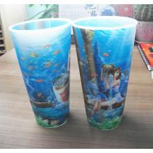Top Plastic Super Selling Cup 3D
