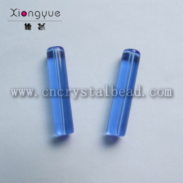 DG04 столбец синего стекла фигуры из бисера