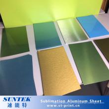 Folhas de alumínio do revestimento da sublimação para a impressão da transferência térmica