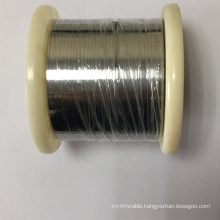 electric wire manufacturers nichrome pure nickel chrome heating flat strip Cr20Ni80 resistance alloy constantan wire