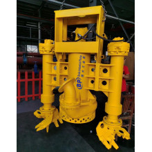 Submersible Dredge Pump with Cutter for Desilting Ash Pond to Be Mounted on a Excavator