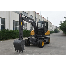 7 ton hydraulic grab wheel excavator for sale