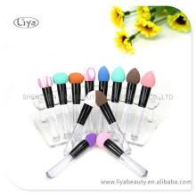 2015 Großhandel Frauen kosmetische Grundlage Latex Make-up Schwamm Bürste