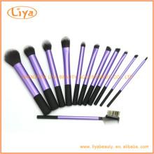 12pcs professionelle Nylon Haare Make-up Pinsel set