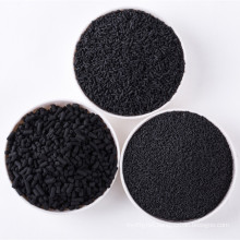 Impregnated koh pellets activated carbon