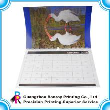2018 China kundengebundene bunte zerreißen Papierwand-Kalendergroßverkauf