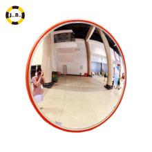 Venta caliente 80cm acrílico interior seguridad tráfico convexo espejo almacén o tienda de conveniencia