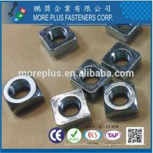 DIN 557 en acier inoxydable Cuivre Vierkantmuttern Metric Thread Square Nuts