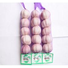 Import frischen chinesischen 3p 4p 5p Paket 10kg Karton reinen weißen Knoblauch
