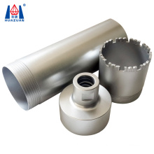 Professional diamond tipped 3 parts reinforced concrete core drill bits for sale