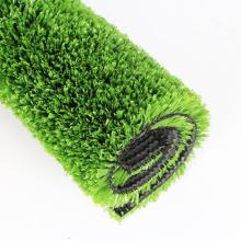 Hierba decorativa de hierba de pp 12mm tierra amigable para decoración paisajística