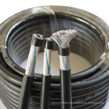 Fio de alta temperatura Resistente linha de Controle cabo de tocha de soldagem mig