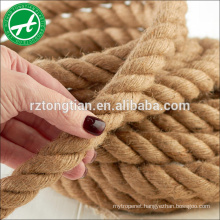 4-38mm natural jute rope for sale