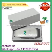 MSLPU35M Big Promotion Sonde linéaire sans fil à bas prix Appareil à ultrasons Protable Scanner