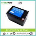 Deep Cycle 12V 10ah LiFePO4 Battery 12V Solar Battery
