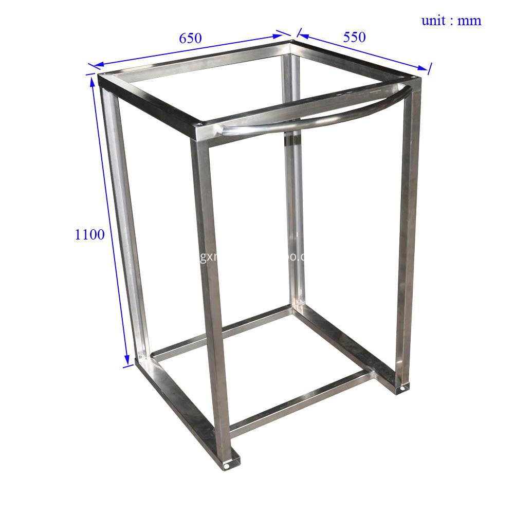 Ctf0001 Emergency Medical Cart Frame Size