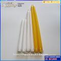 La vela de conicidad blanca más popular del hotsale venta al por mayor vela sin llama blanca de la conicidad para el uso casero