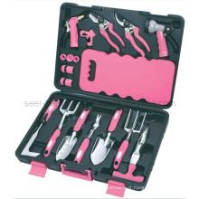 18PCS Jardim Ferramenta Kit-Pink (SE2654)