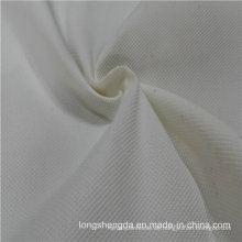 Wasser & Wind-resistent Anti-Static Sportswear Gewebte Pfirsich-Haut 100% Jacquard-Polyester-Gewebe Grau Gewebe Grau Tuch (E104)