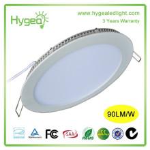 Hotline 6w AC85-277V Round Square ultra léger éclairage LED