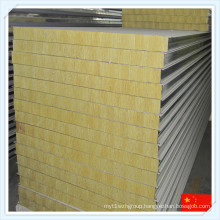 China Hiqh Quality Heat-Insulated Mineral Wool Sandwich Panel