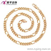 Fashion Xuping 18k Gold-Neck Neckline para hombre en Environmental Copper-42622