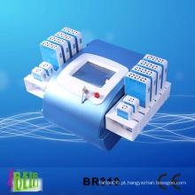 336 diodos 12 pás Lipolaser emagrecimento duplo comprimento de onda 650nm, 980nm máquina Br310