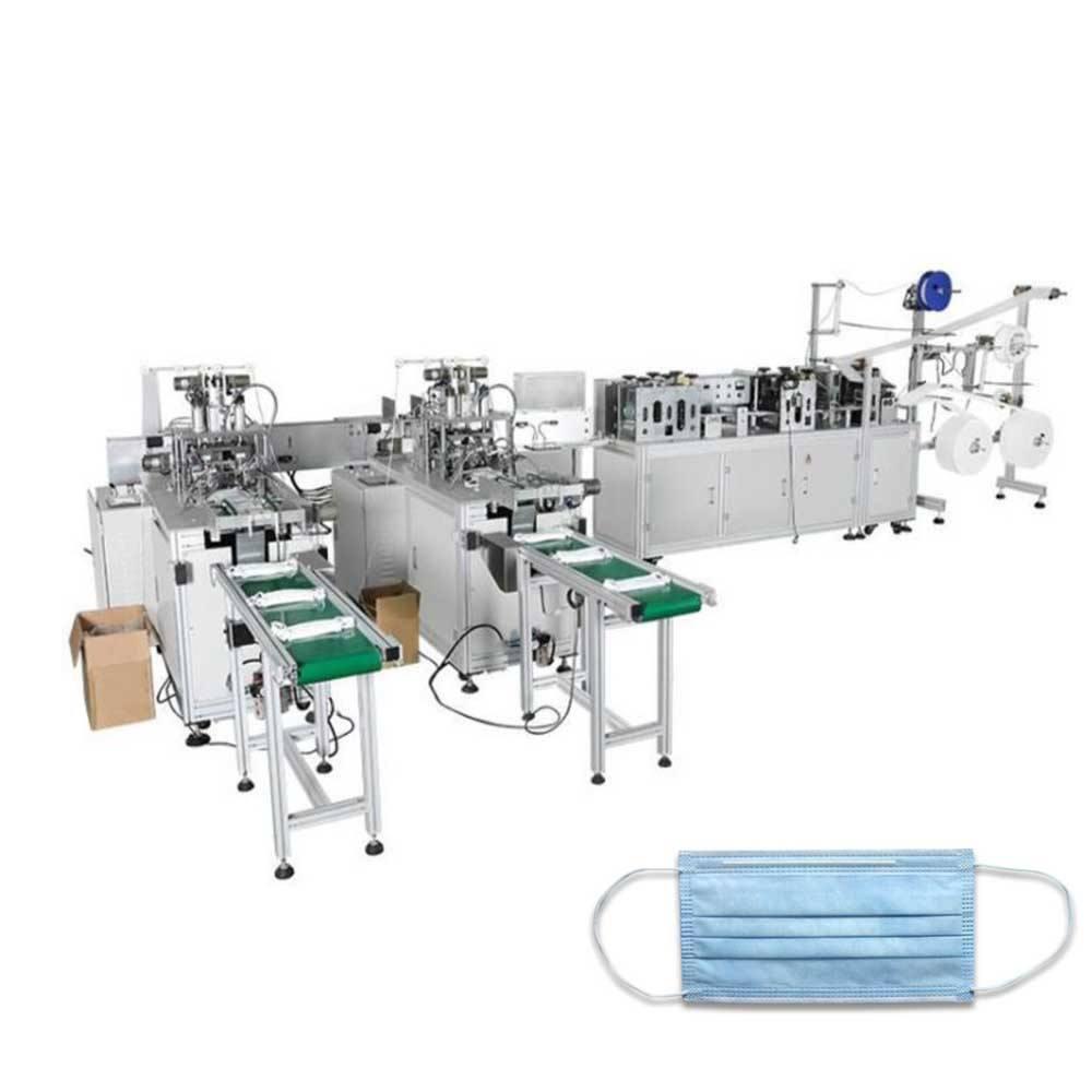 Full automatic KN95 mask machine