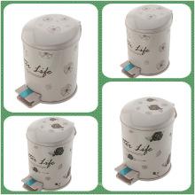 Foot Pedal PP Plastic Printing Dust Bin (FF-5308)