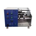 Horizontal type resistor lead cutting forming machine