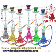 New Design Large Hookah With Iron And Glass