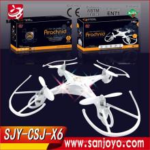 Nuevos productos calientes 4CH 2.4GHz RC Quadcopter que juega 2.4G rc drone mini UFO CSJ-X6