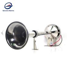 Alarma de altavoz de bocina eléctrica de trompeta larga de tono alto único marino de barco de 12V marino genuino