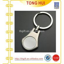 Hot Custom metal blank cheap photo keychains