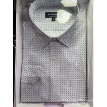 Chemises pour hommes teints en fil