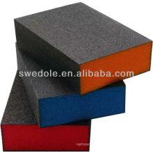 SATC - fornecedor de China do bloco de esponja do lixamento do óxido de alumínio de A / O com alta qualidade e bom preço