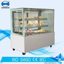 6 Feet cake display refrigerator with LED lighting