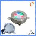 Hochwertiges 5W wasserdichtes IP68 geführtes Brunnenlicht, Edelstahl 316 Poollicht führte Unterwasserlicht