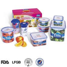 recipiente de plástico para alimentos