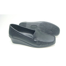 Chaussures Comfort Lady avec semelle extérieure TPR (SNL-10-084)