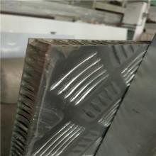 Superficie en relieve anti deslizamiento paneles de nido de abeja de aluminio para pisos